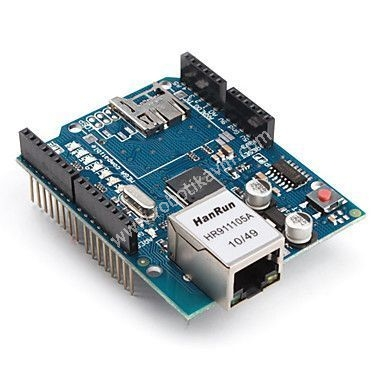 Arduino-Ethernet-Shield-(Wiznet-W5100)---Klon